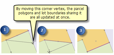 An example of editing shared geometry