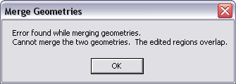 Merging geometries will fail if editors have both made edits on overlapping areas