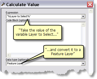 Calculating a value into a data type