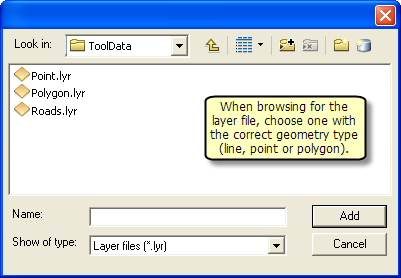 Supported Geometry type