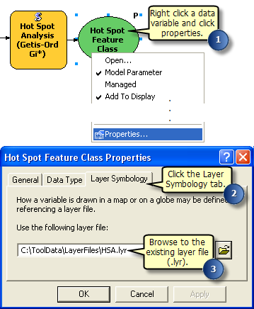 Setting layer symbology property