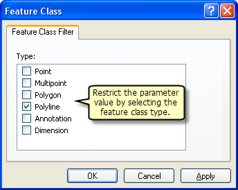 Feature class type