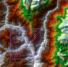 Dirty Area Renderer for Terrains