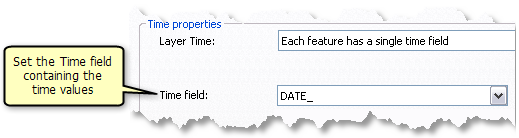 Set the Time field