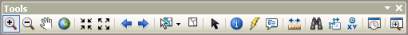 The Tools toolbar