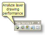 Analyze button on the Map Service Publishing toolbar