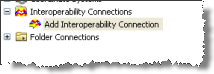 Adding an interoperability connection