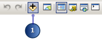 The Add Data button highlighted on the Standard toolbar
