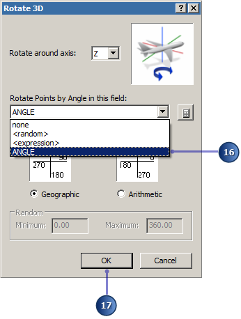 Rotate symbols in 3D using an Angle field.