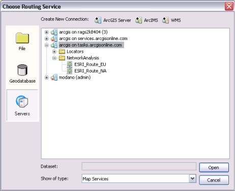 Choose routing service