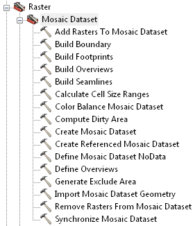 Mosaic Dataset Toolset