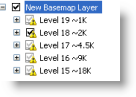 Adding layers to a basemap layer