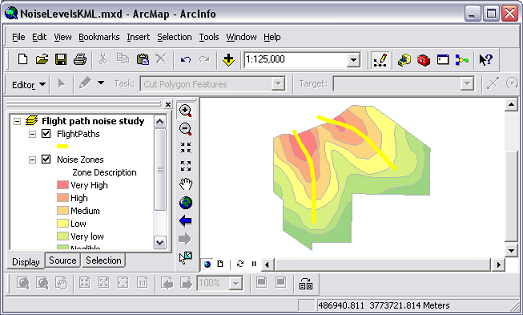 ArcGlobe layers brought into ArcMap