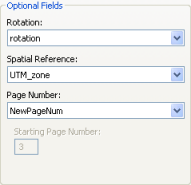 Data Driven Pages Setup UI Page Number Field example