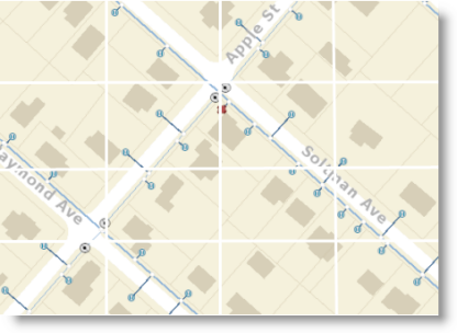 Map services are delivered as tiles on the Web.