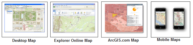 Web map applications for ArcGIS