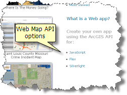 Web Map APIs for ArcGIS