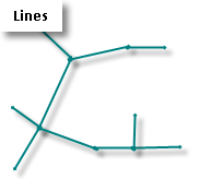 Line features