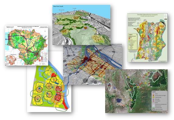 GIS design maps