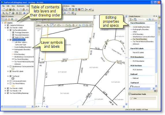 Example ArcMap document