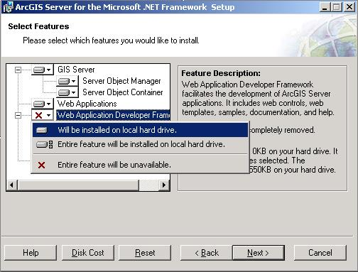 Adding additional installation components